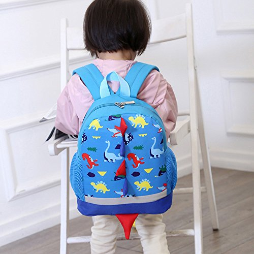 Blue Casual Homebaby Kids Bag Travel Backpack Dinosaur Collection Girls Animals Baby School Boys Shoulder Daypack Pattern Cute Toddler qqwzTf4