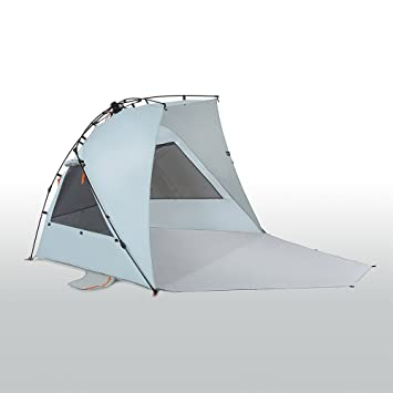 Kau Kohu 4 Person Easy Up Beach Tent for the Entire Family Certified UPF 50  sc 1 st  Amazon.com & Amazon.com: Kau Kohu 4 Person Easy Up Beach Tent for the Entire ...