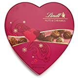 Valentine Classic Nuts & Caramels Chocolate Assortment Gift Heart, 4.9oz (Pack of 6)