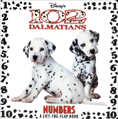 102 Dalmatians: Numbers (Lift-the-Flap)