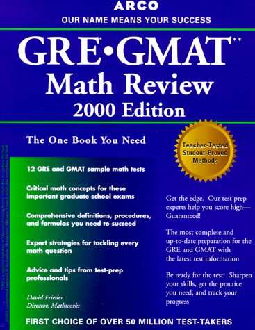 GRE/GMAT Math Review 5th ED (Arco GRE GMAT Math Review)