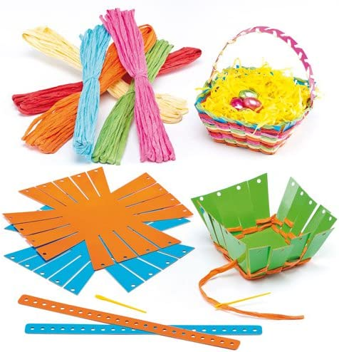 Excellerations WEAVEME Colorations Basket Weaving Craft Kit Pack of 12