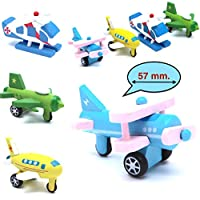 Wooden Shape Planes and Helicopters | Fine Motor Skills, Hand-Eye Coordination Toys for Kids | Learning Shape and Color of Vehicle | 3 & Above Years Boy Girl