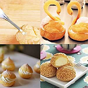 Kitchen Baking Tools Stainless Steel Cake Cream Icing Piping Nozzle Home DIY Tips Pastry Fondant Decoration