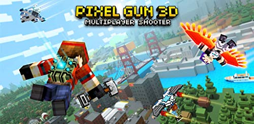 Amazon.com: Pixel Gun 3D (Pocket Edition) - multiplayer shooter with skin  creator: Appstore for Android