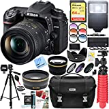 Nikon D7500 20.9MP DX-Format Digital SLR Camera with AF-S 18-300mm f/3.5-6.3G ED VR Lens + 64GB SD Card and Deluxe Filter Accessory Bundle