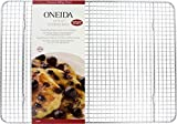 Oneida Cooling and Baking Rack - 12 X 17 Inches -Tight Grid Heavy Duty Wire Rack Fits Half Sheet Cookie Pan