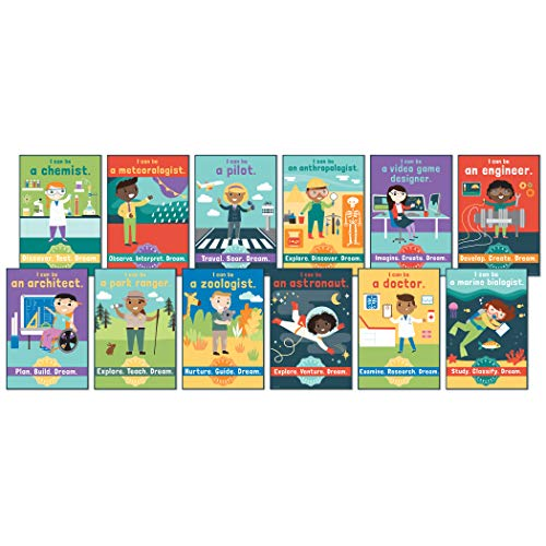 Carson Dellosa STEAM Careers Bulletin Board Set (110383)