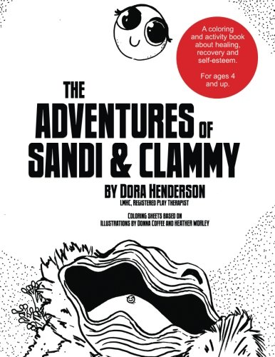 (Coloring Book) The Adventures of Sandi and Clammy