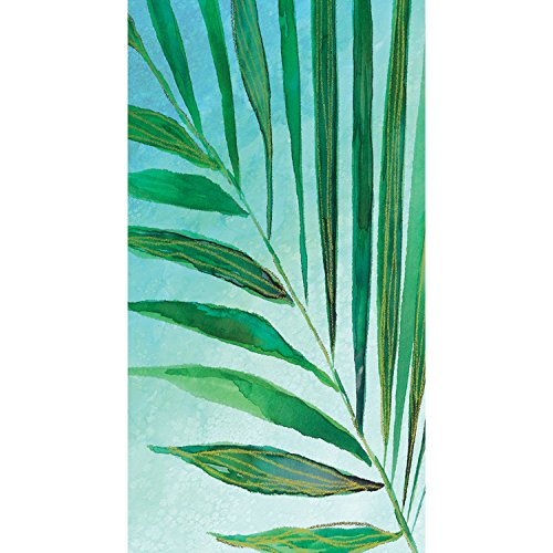 Creative Converting 325067 Party Supplies, (Tropical Palm Dinner)