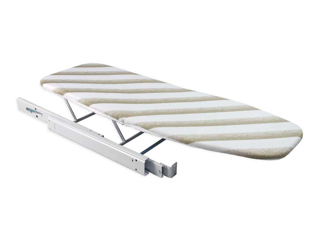 Bügelbrettschrank ziehen bügeltisch zusammenklappbar integrierte schublade seitliche