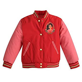 Disney Elena of Avalor Varsity Jacket for Girls - Size 2 Red