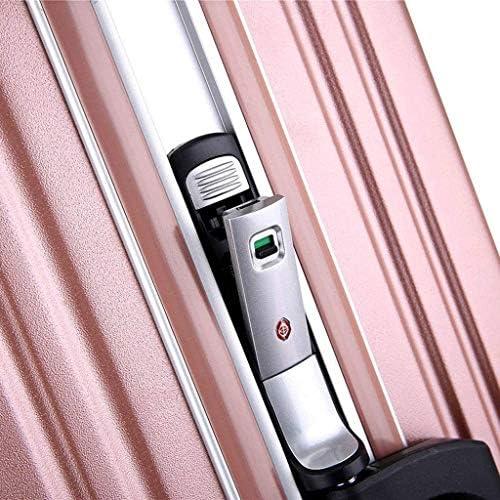 BXDYA ダブルスピナーホイール耐久性のあるハードシェルスピナー直立荷物軽量チェックインサイズで拡張可能 (Color : C)