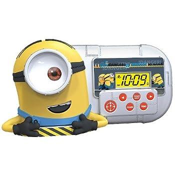 Amazon.com: Despicable Me Minion Alarm Clock/Sleep Timer ...