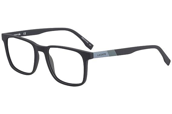 e13ca49923 Eyeglasses LACOSTE L 2819 424 MATTE BLUE at Amazon Men s Clothing store