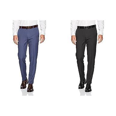 1b3fe73758c16 Van Heusen Men's Traveler Slim Fit Pant