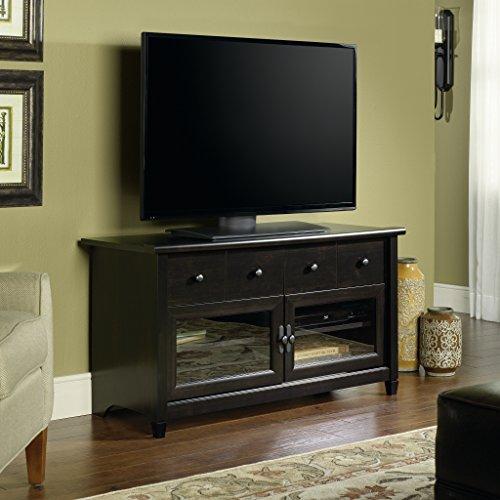 042666133005 - Sauder Edge Water Panel TV Stand, Estate Black Finish carousel main 0