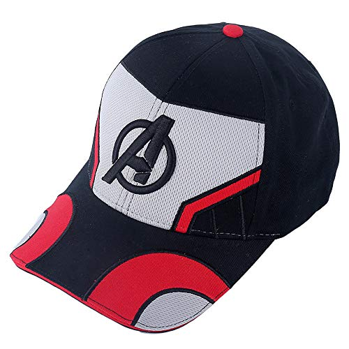 Gankchen Quantum Realm The Advanced Tech Suits Avengers 4 Endgame Hat Cosplay Logo Hats Size Adjustable Cap Embroidery Pattern Baseball Caps