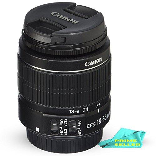 Canon EF-S 18-55mm f/3.5-5.6 IS II SLR Lens BUNDLE w/ Prime Seller Lens Cleaning Solution
