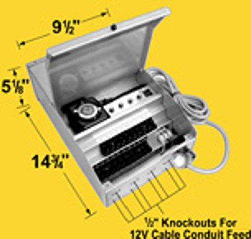 (Corona T-MT900-T 900W, 12-15V, Triple Circuit Transformer With Plug-In)