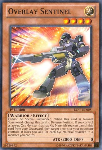 Details about  /Overlay Sentinel LVAL-EN005 Common Yu-Gi-Oh Card 1st Edition New