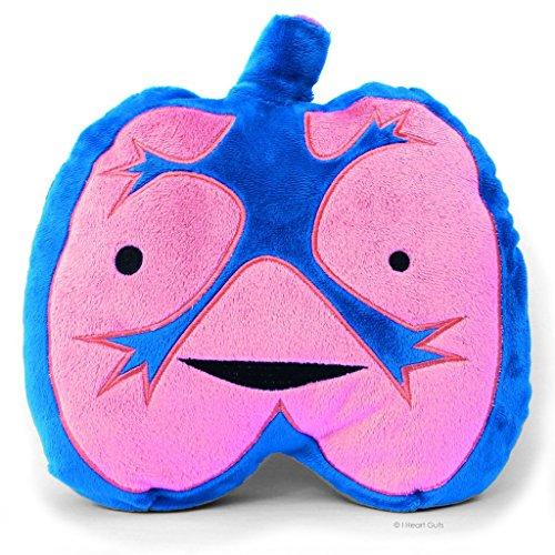 LOUD LUNGS Designer Plush Figure - I Lung Rock n' Roll! from the I Heart Guts -
