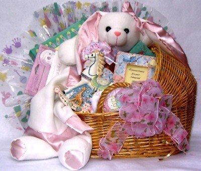 Gift Basket Village Special Delivery Baby Gift Basket, Large