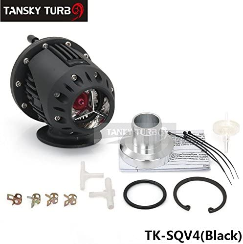 Universal Schwarz Sqv Ssqv Bov Turbo Blow Off Ventil Bov Mit Adapter Flansch Iv 4 Standard Farbe Ist Schwarz Tk Sqv4 Bk Auto
