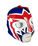 ESCORPION Lycra PRO Adult Lucha Libre Wrestling Mask (pro-LYCRA) Blue