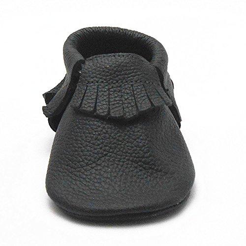 Sayoyo Quasten WeichesLeder Baby Schuhe Kleinkinder M?dchen Junge Schuhe (L)