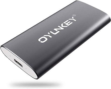 OYUNKEY 512GB Disco Duro Externo SSD Portátil de Tipo-C/USB ...