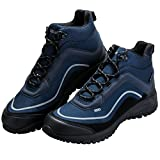 FREE SOLDIER Men's Tactical Boots All Terrain Lightweight Work Boots Mid Military Desert Hiking Boots (Blue, 11.5)
