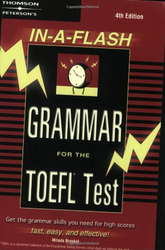 In-A-Flash Grammar for the TOEFL ()
