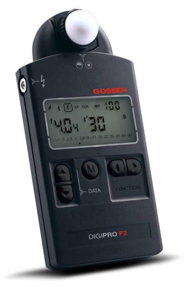 Gossen GO 4033-2 Digipro Light Meter F2 (Black) by Gossen