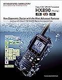 Standard Horizon HX890 Handheld VHF Navy Blue