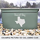 Choose a State Ammo Box, Ammo Can, Customized, Christmas Gift, Personalized