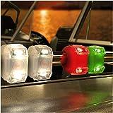 Bright Eyes Green, Red, & White Portable Marine LED