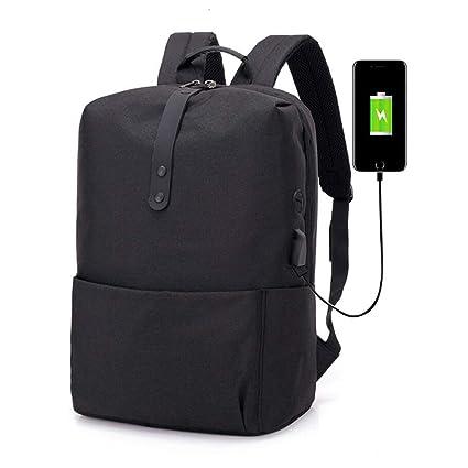 Mochila para computadora portátil de negocios, viajes antirrobo mochilas para computadora Puerto de carga USB