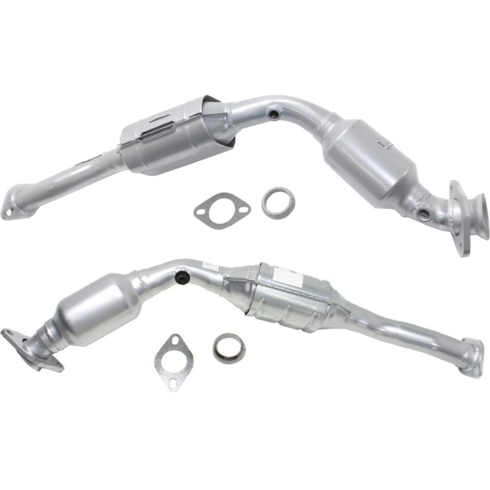 Catalytic Converter compatible with 2003-20082010-2011 Ford Crown Victoria Set of 2