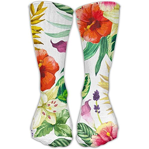 Hawaiian Vector Unisex Printing Seafarer Socks Deluxe Personality Short Sock 30Cm