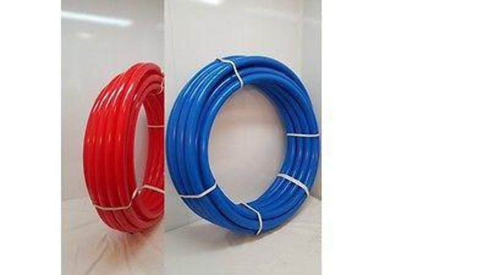 1/2'' 600' Coil 300' RED & 300' BLUE Certified Non-Barrier PEX Tubing Htg/Plbg