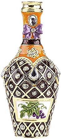 Caja para botellas, estilo Faberge, decorada con cristales de Swarovski, decoración única para el hogar: Amazon.es: Hogar