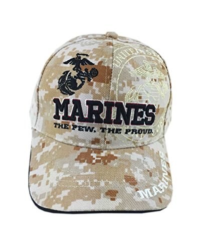U.S. Military Marines Cap Officially Licensed(Desert Camouflage)