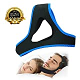 Snoring Solution Stop Snoring Chin Strap, Anti Snoring Chin Strap Snore Reduction Adjustable Snore Relief Chin Strap Mouth Breathers Sleep Aid Devices Stop Snoring Devices For Men Women Kids(2018 New