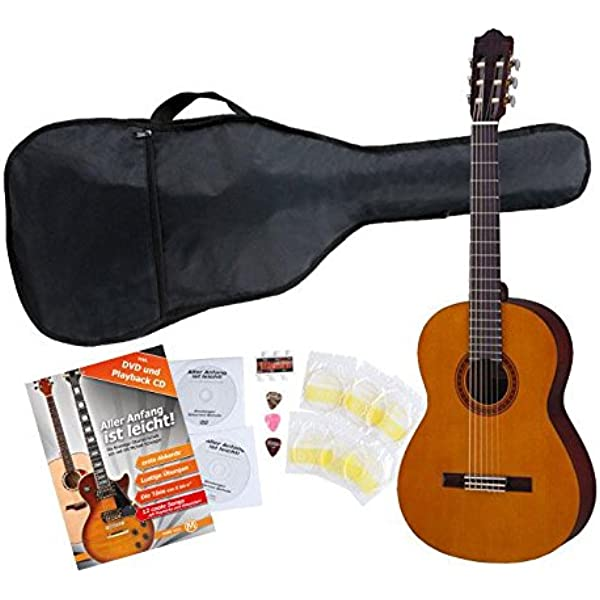 Yamaha C40 Guitarra clásica (Incluida funda): Amazon.es ...