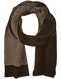 Armani Jeans Men's Wool Blend Knit Speckled Scarf