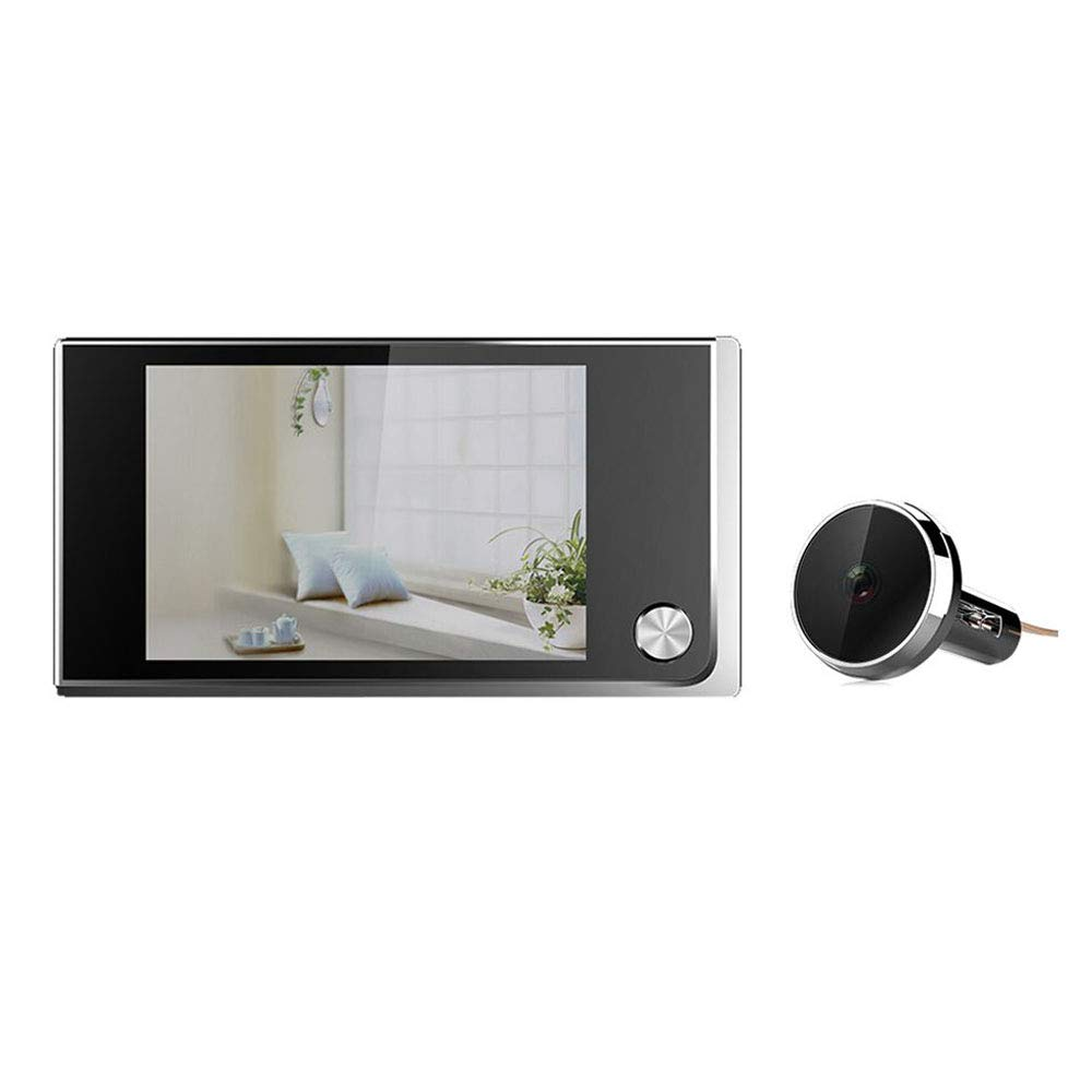 neoall 520A 3.5'' LCD Digital Peephole Door Viewer Camera 120 Degree Wide-angle Lens Cam Electronic Door Bell