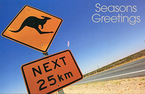 Greeting Christmas Card Australia