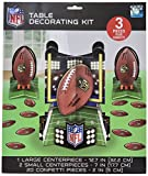 football birthday party - NFL Drive Birthday Party Assorted Table Decorating Kit, Green/Brown, Paper , Pack of 23