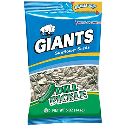 Giants de eneldo Pickle semillas de girasol – 5 oz: Amazon ...